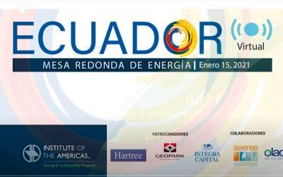 Mesa Redonda Virtual Energía Ecuador 2021 – Playlist