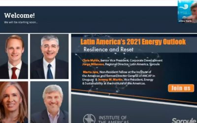 Latin America's 2021 Energy Outlook – Resilience and Reset